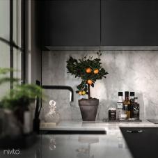 Svart Eldhús Blöndunartæki - Nivito 10-RH-320