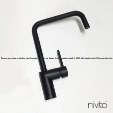 Svart Eldhús Blöndunartæki - Nivito 23-RH-320